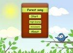 Повтори песню лесных птичек