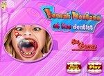 Ханна Монтана у зубного врача