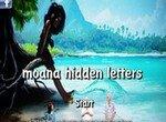 Моана в поисках букв