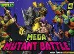Черепашки ниндзя в мега битве с мутантами