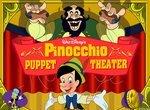 Пиноккио выступает в кукольном театре