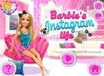 Активная жизнь Барби в инстаграмм