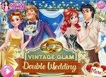 Двойная свадьба принцесс в стиле винтаж