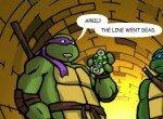 Черепашки-ниндзя спасают Сплинтера