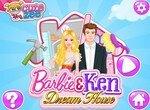 Обустрой дом Барби и Кена