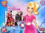 Барби собирается на Неделю моды в Лондоне