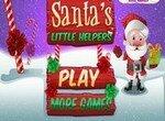 Помоги Санта Клаусу упаковать подарки