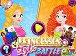 Принцессы Диснея в битве стилей