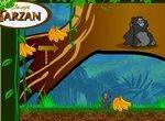 Тарзан: Обезьянка собирает бананы