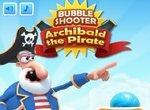 Пират Арчибальд стреляет по шарикам