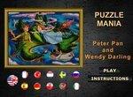Пазлы: Питер Пен и Венди Дарлинг