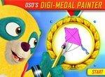 Раскраски Спецагент Осо: Медаль художника