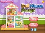 Обставь трехэтажный кукольный домик