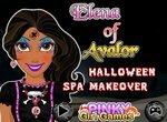 Принцесса Авалора готовится к Хэллоуину