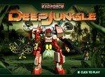 Сражение роботов в джунглях