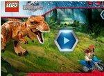 Побег лего-динозавра