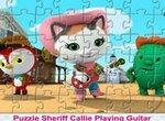 Пазл: Шериф Келли играет на гитаре
