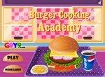 Готовим гамбургер в кулинарной академии
