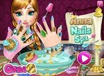Уход за ногтями принцессы Анны