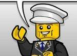 Лего: Трюки на снегоходе