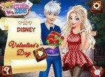 Герои Диснея отмечают день св.Валентина