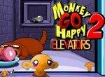 Рассмеши грустную обезьянку: В лифте 2