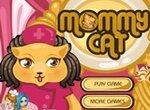 Мама котенка