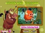 Тимон и Пумба: Веселая раскраска