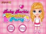 Пижамная вечеринка у Малышки Барби