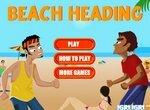 Пляжный волейбол с воротами