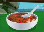Готовим суп на природе