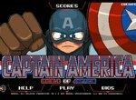 Щит правосудия супергероя Капитана Америки