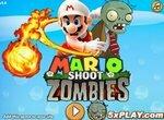 Стрельба по зомби с Марио