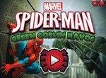 Зеленый Гоблин взрывает Человека-паука