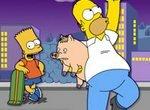 Симпсоны: Барт на скейте