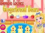 Блонди Локс готовит имбирные пряники