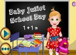 Малышка Джульетта в школе