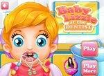 Малышка Лиззи у зубного врача