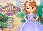 Принцесса София одевается