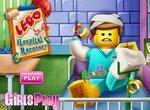 Лего: Лечим Эммета в больнице