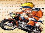 Наруто-мотогонщик