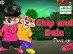 Одевалка Чип и Дейл: Модные бурундуки