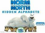 Найди буквы с медведем Нормом