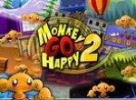 Счастливая смешная обезьянка 2