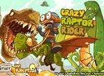 Безумный наездник на динозавре