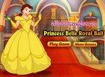 Одевалка: Принцесса Белль собирается на бал