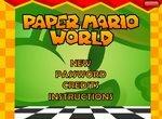 Бродилка Марио в бумажном мире