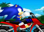 Соник на мотоцикле