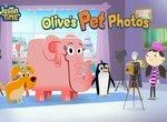 Время Джастина: Оливия делает фото животных