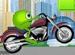 Университет Монстров: Гонки на мотоцикле